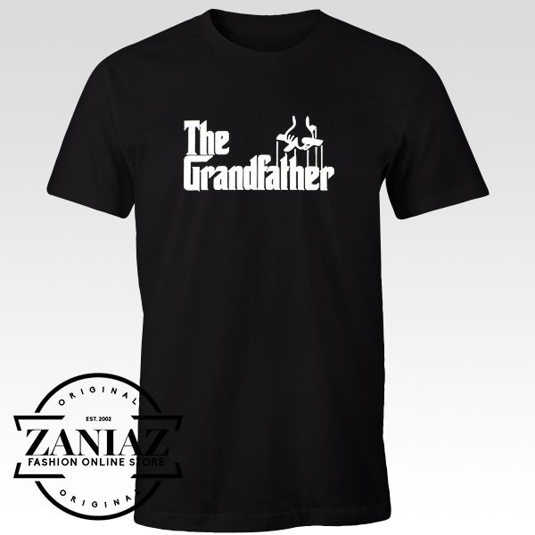 T-shirt Funny The Grandfather Father's Day Tees
