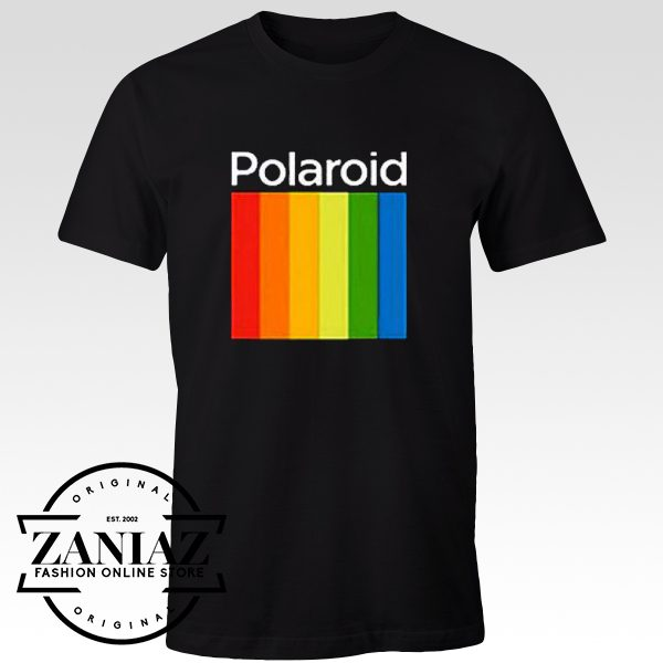 Cheap Graphic Design Tee Shirt Polaroid Tshirt for Mens