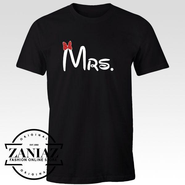 Cheap Graphic Design Tshirt Mrs Women t-shirt Gift