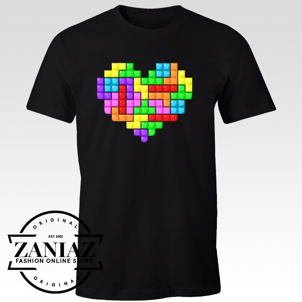 Cheap Graphic Tshirt For the Love of Tetris Men t-shirt Adult