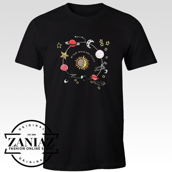 Cheap Graphic Tshirt My Sun Moon And Stars Solar System