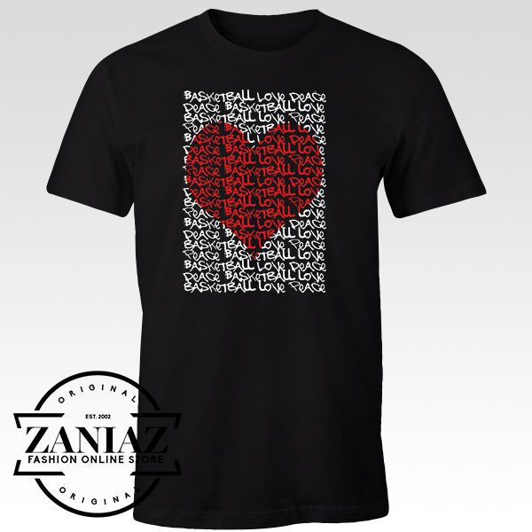 Cheap Graphic Tshirt Urban Women Peace Love Heart t-shirt