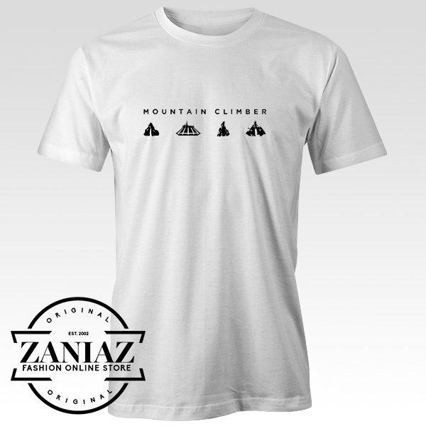 Cheap T-Shirt Mountain Climber Men t-shirt for Men