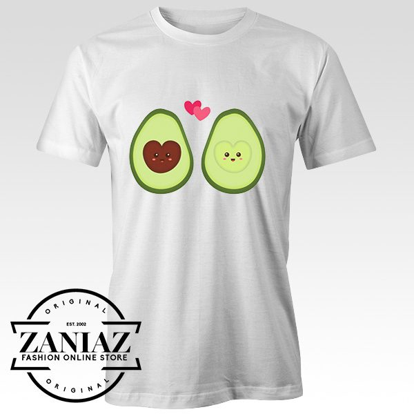 Cheap Tee Shirt Cute Avocado in Love Mens t-shirt Unisex