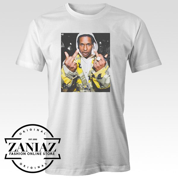 Cheap Tshirt ASAP Rocky Men's tshirt Adult