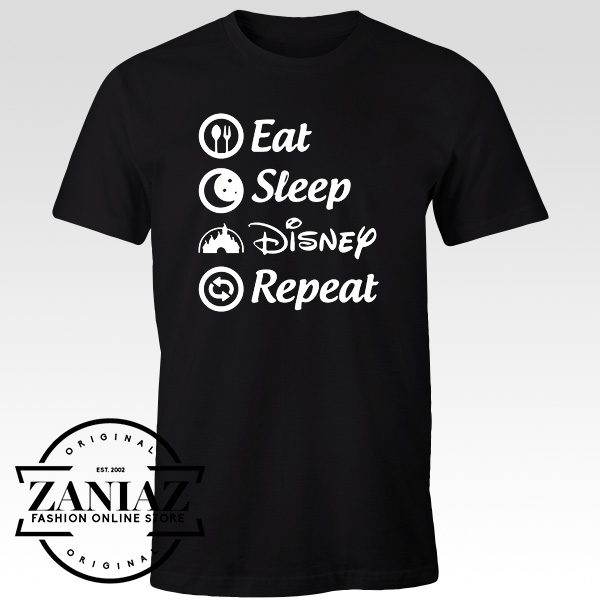 Cheap Tshirt Eat Sleep Disney Repeat t-shirts Adult