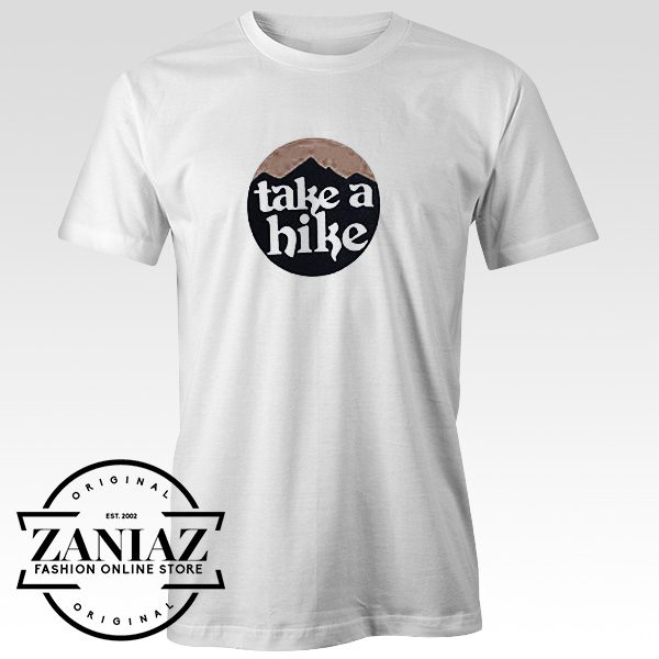 Cheap Tshirt Graphic Take A Hike Women's Shirt