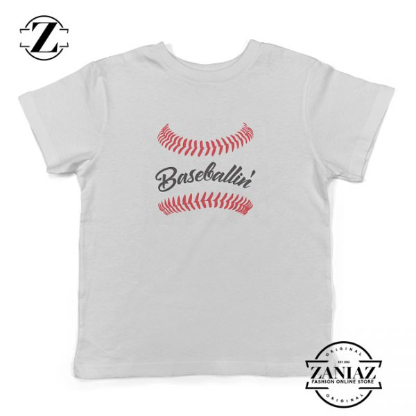 Baseballin Cute Toddler Tee Toddler Baseball Shirt