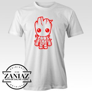 Buy Baby Groot Tee Shirt Funny Avenger T-Shirt