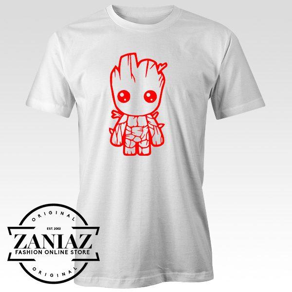 60e362aecb02 Buy Baby Groot Tee Shirt Funny Avenger T-Shirt - FASHION GRAPHIC ONLINE  STORE