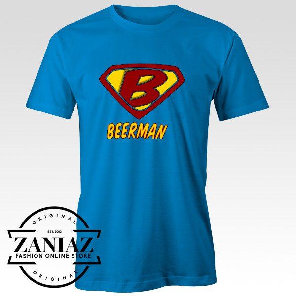 Buy Cheap Tees Shirt Beerman Men's T-Shirt Unisex