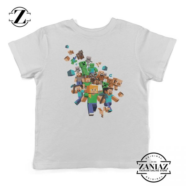 Buy Edition Xbox 360 Minecraft Characters Kids Tee