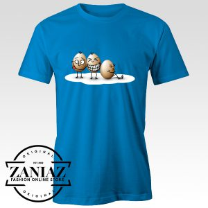 Buy Funny Egg Cartoon Illustration Design Tee Shirt