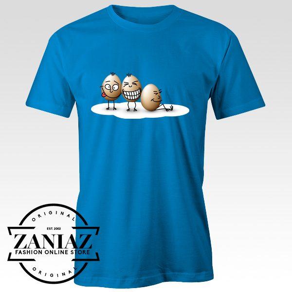 Buy Funny Egg Cartoon Illustration Design Tee Shirt