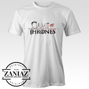 Buy Logo T-shirt Game of Thrones Tee Shirt Gaming