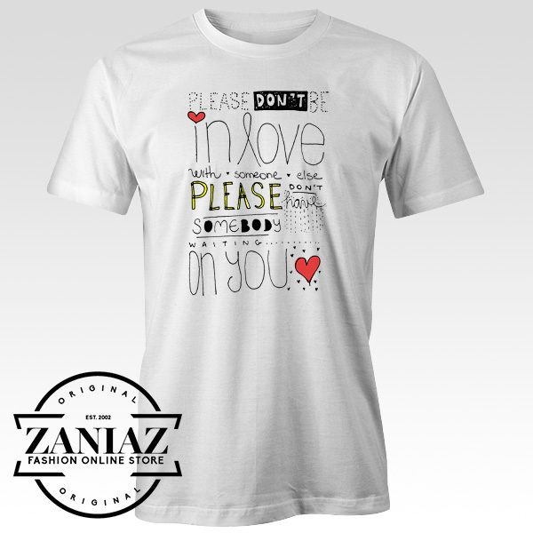 Buy Lyrics Tshirt Music Song One Direction Tee Shirt