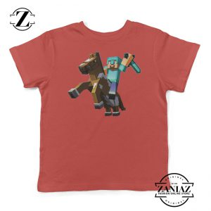 Buy Minecraft Story Mode Terraria Horse Youth Shirt