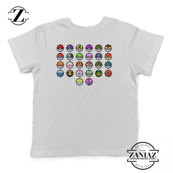 Buy Poke Ball Pokemon Sun and Moon Kids T-Shirt