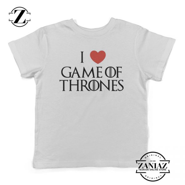 Cheap I Love Game Of Thrones Funny Kids Shirt