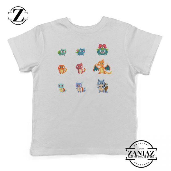 Cheap Kids Shirt Pokemon Art Drawing Toddler Tee