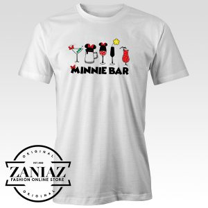 Cheap Minnie Bar Disney Tee Shirt Mickey Mouse tshirt