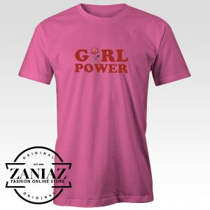 Cheap T-Shirt Feminist Girl Power Tee Shirt Woman