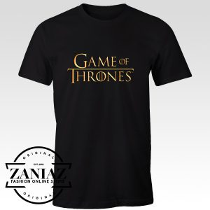 Cheap T-Shirt Logo Game of Thrones Tee Shirt Adult