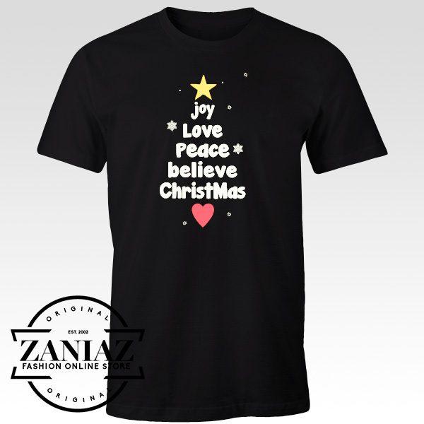 Cheap Tee Christmas Gift Shirt Holiday T-shirt for Women