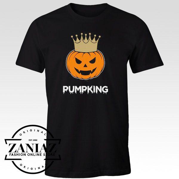 Cheap Tee Halloween PumpKing Funny Tshirt Halloween