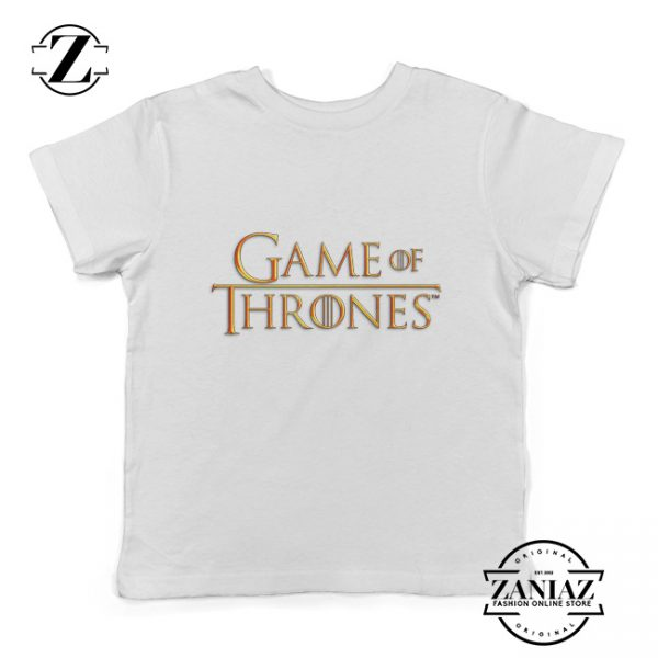 Cheap Tee Logo Game of Thrones T-Shirt kids