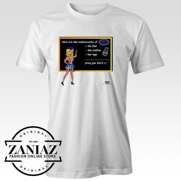Cheap Tee Shirt Mathematics of Sex Mens t-shirt