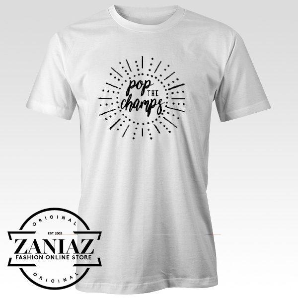 Cheap Tee Shirt Pop the Champs Music tshirt Adult Unisex