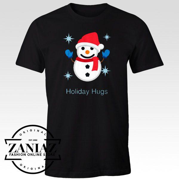 Cheap Tees Holiday Hugs Cristmas Shirt Family Tshirt