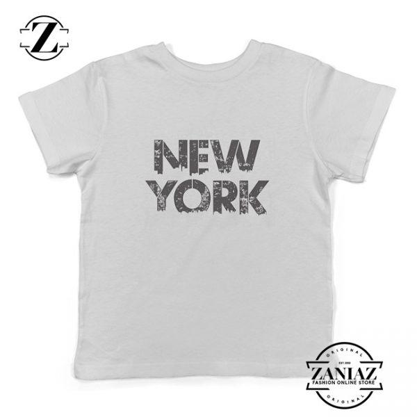 Cheap Toddler Baseball Shirt NEW YORK Kids Tee