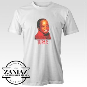 Custom Cheap Tee Shirt Young Tupac Shakur T shirt