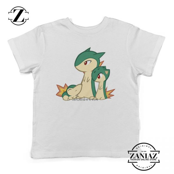 Cyndaquil Pokemon Go and Typhlosion Kids T-Shirt