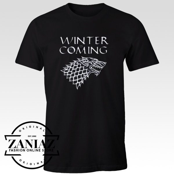 Game of Thrones shirt Winter is coming stark t-shirt