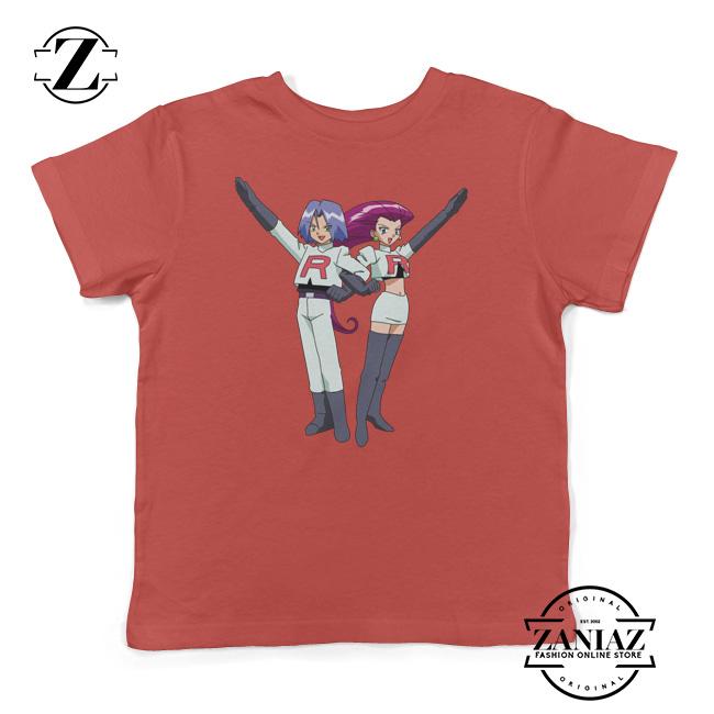 7e3f93be Jessie James Pokemon GO Team Rocket Kids Shirt - Cheap Kids Clothes