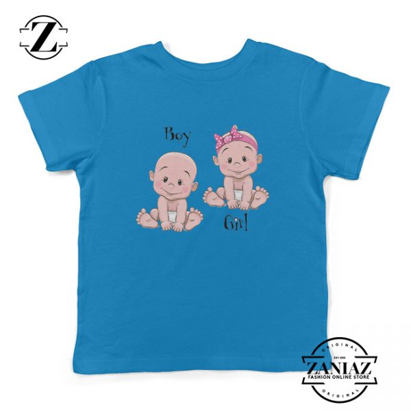 Kids Shirt Cartoon Male and Female Baby Youth