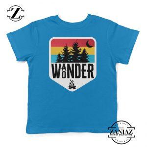 Kids Shirt Wander Wonder Camp Shirt Boys Shirts