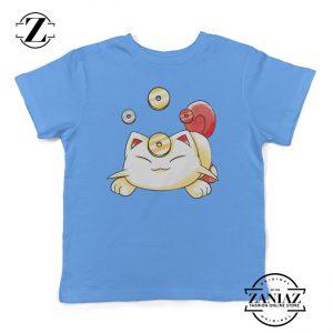 Kids Tee Illustration Cartoon Kids Shirt Pokemon