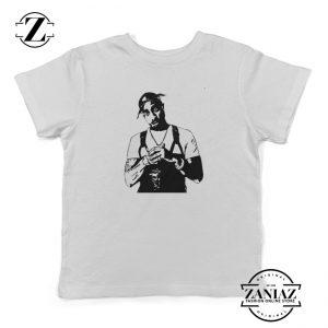 Rap Shirts for Kids Funny Toddler Tee Tupac Shakur