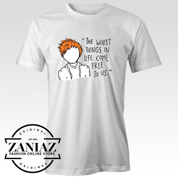 0a4507360d Song Tshirt The A Team Lyrics This Ed Sheeran Tee - Cheap Kids Clothes