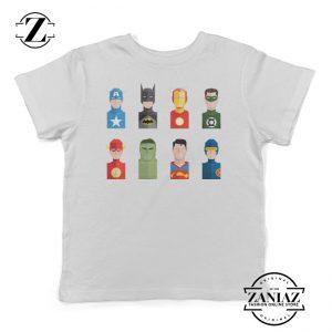 Superhero Icon Marvel Super Heroes Kids T-Shirt