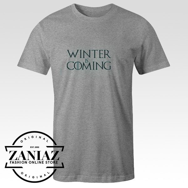 Winter is Coming Shirt Game of Thrones Clothing