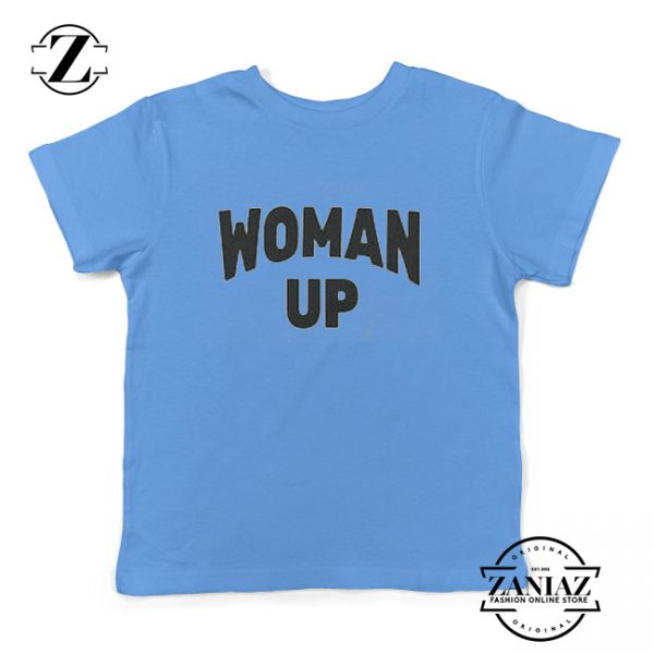 Woman Up Feminist Kids Shirt Unisex Youth Clothes