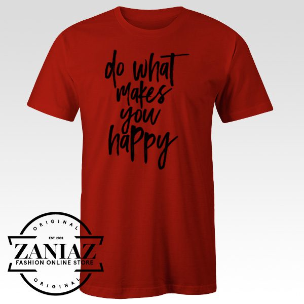 YouTube T-shirt Happiness Love Quotation T-Shirt