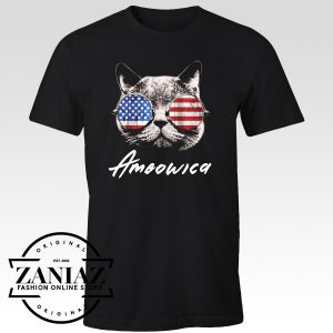 Ameowica The Great Shirt Funny Patriotic Tshirt