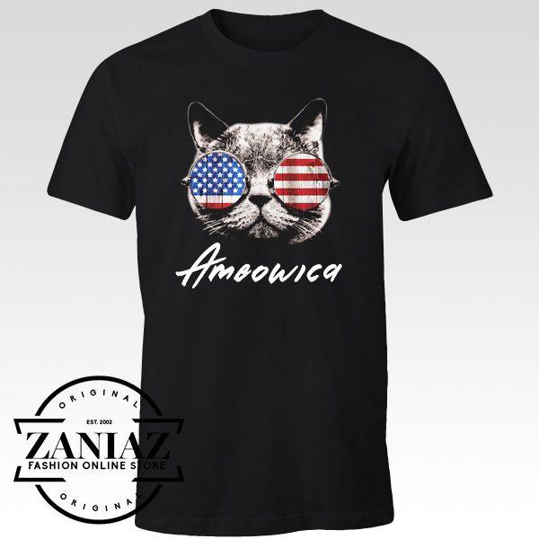 Ameowica The Great Shirt Funny Patriotic Tshirt