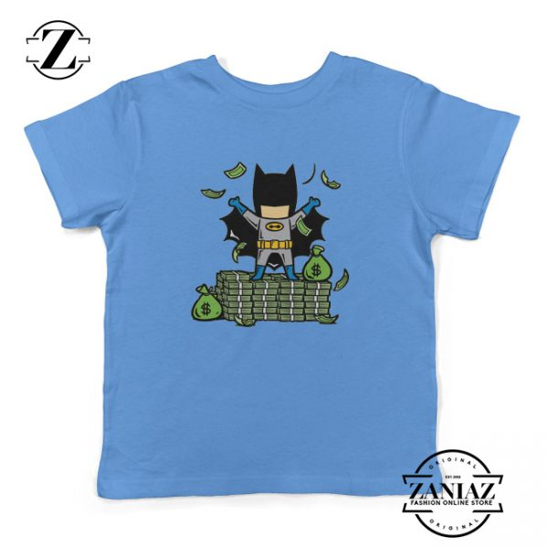 Batman Kids Shirt Batman Cartoon Gift Kids Tee